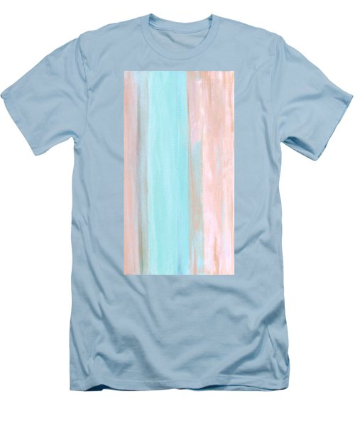 Men's T-Shirt (Slim Fit) featuring the painting Cool Jade by Stephanie Grant