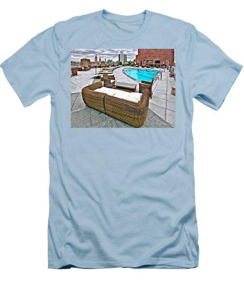 Cooper Roof Men's T-Shirt (Athletic Fit)