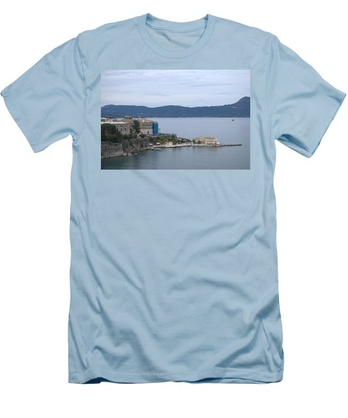 Corfu City 4 Men's T-Shirt (Athletic Fit)