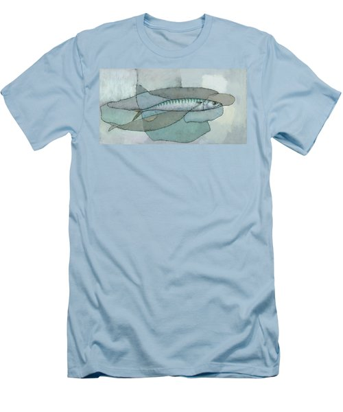 Cornish Mackerel Men's T-Shirt (Athletic Fit)