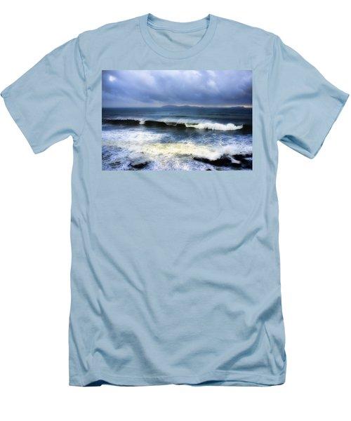 Coronado Islands In Storm Men's T-Shirt (Athletic Fit)
