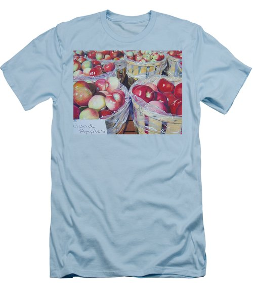 Cortland Apples Men's T-Shirt (Athletic Fit)