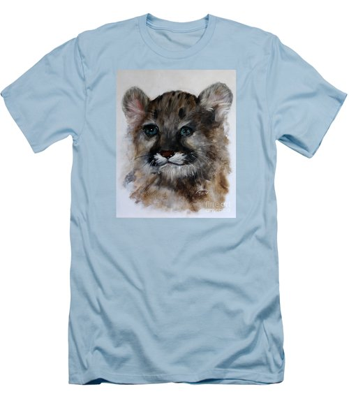 Antares - Cougar Cub Men's T-Shirt (Slim Fit) by Barbie Batson