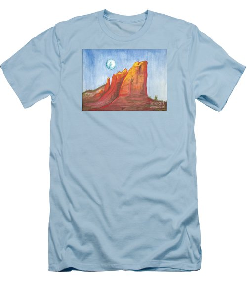 Court House Butte  Men's T-Shirt (Athletic Fit)