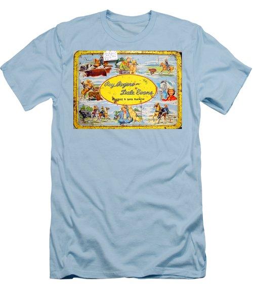 Cowboy Lunchbox Men's T-Shirt (Athletic Fit)