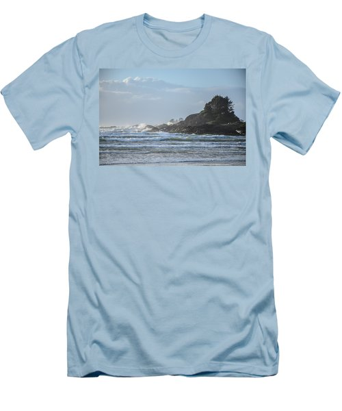 Cox Bay Afternoon Waves Men's T-Shirt (Athletic Fit)