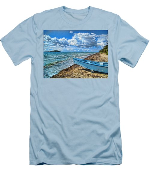 Crash Boat Men's T-Shirt (Athletic Fit)