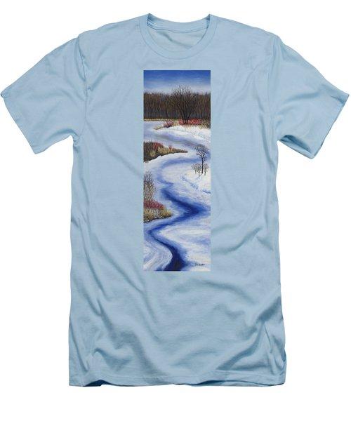Crooked Creek Men's T-Shirt (Athletic Fit)