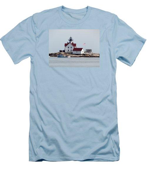 Cuckholds Lighthouse Men's T-Shirt (Athletic Fit)