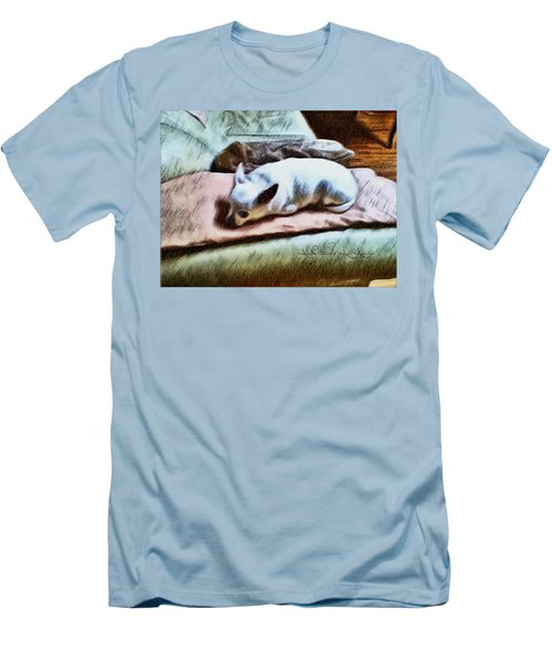 Cuddly Men's T-Shirt (Athletic Fit)