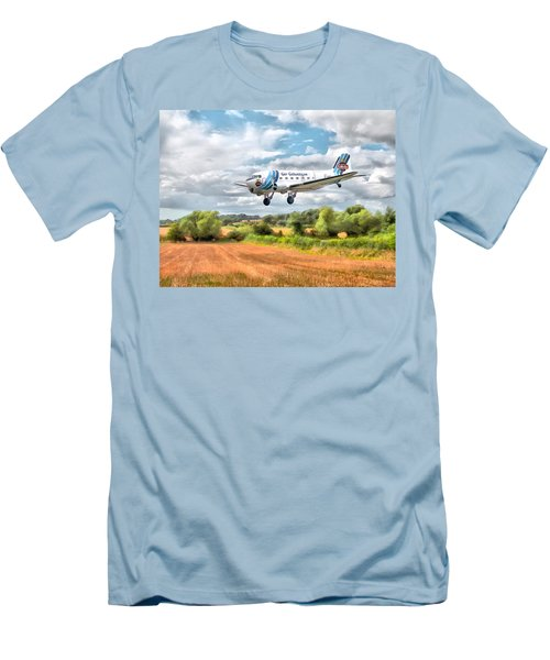 Dakota - Cleared To Land Men's T-Shirt (Athletic Fit)