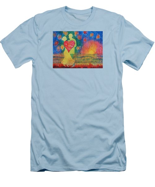 Danced Until Dawn Men's T-Shirt (Slim Fit) by Lynda Hoffman-Snodgrass