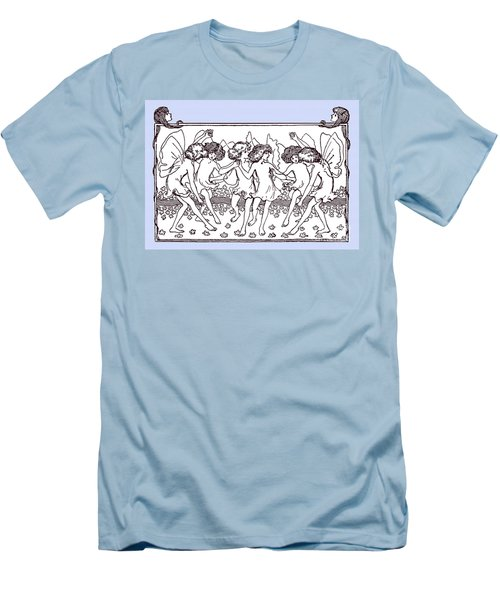 Dancing Fairies From 1896 Men's T-Shirt (Slim Fit) by Phil Cardamone