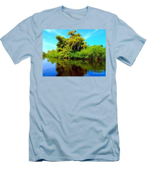 Dancing Willow Men's T-Shirt (Athletic Fit)