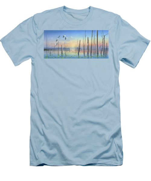 Dawns Early Light Men's T-Shirt (Slim Fit) by Mike Brown