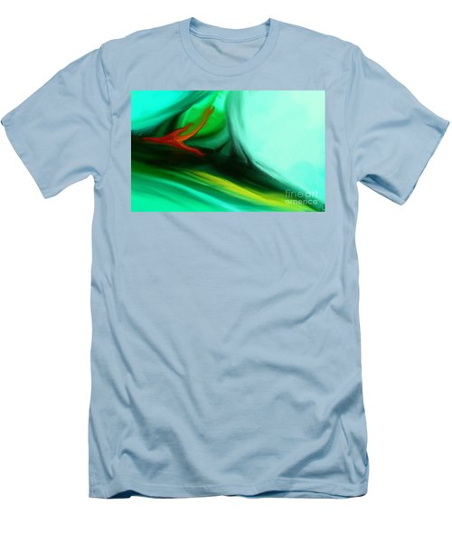 Deep Sea Men's T-Shirt (Slim Fit) by Anita Lewis