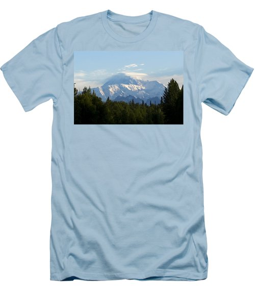 Denali A Closer Look Men's T-Shirt (Slim Fit) by Tara Lynn