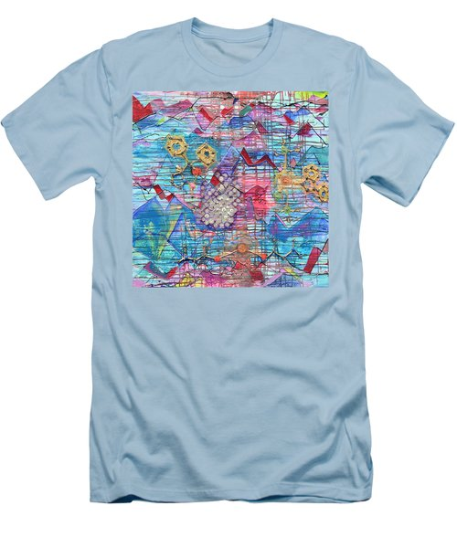 Density Of States Men's T-Shirt (Athletic Fit)