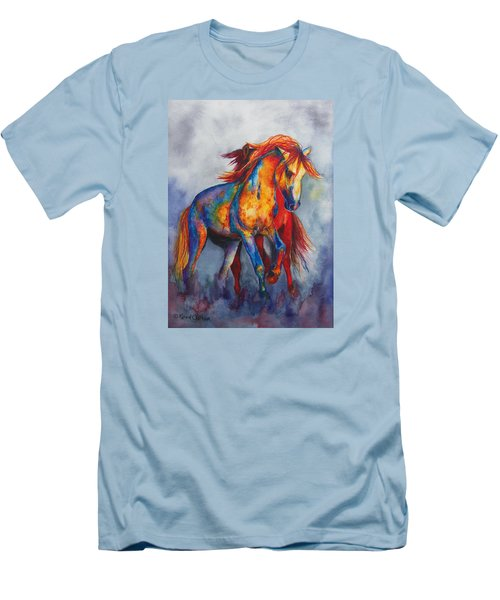 Desert Dance Men's T-Shirt (Slim Fit) by Karen Kennedy Chatham