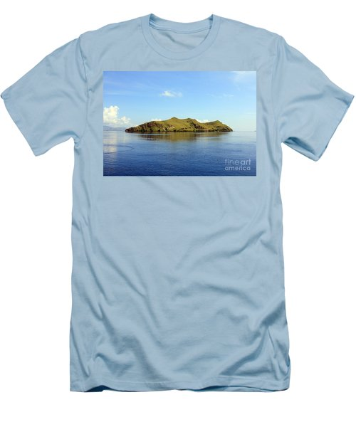 Men's T-Shirt (Slim Fit) featuring the photograph Desert Island by Sergey Lukashin