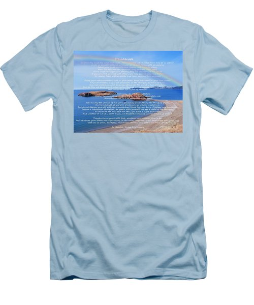 Desiderata  Men's T-Shirt (Slim Fit) by Barbara Griffin