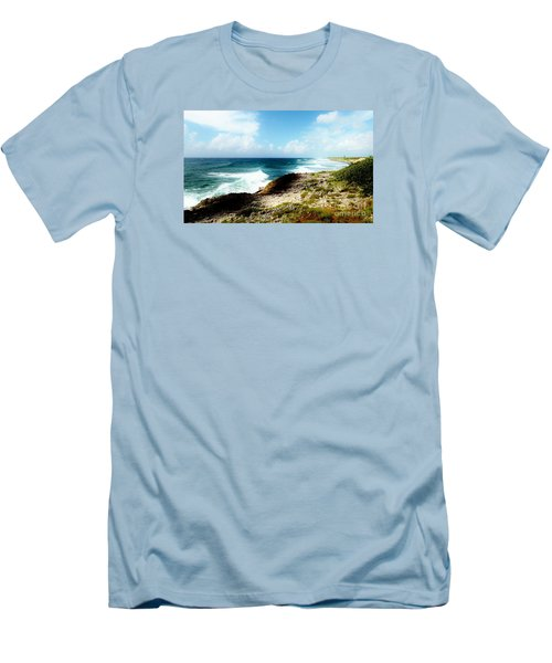 Diorama Men's T-Shirt (Slim Fit) by Amar Sheow