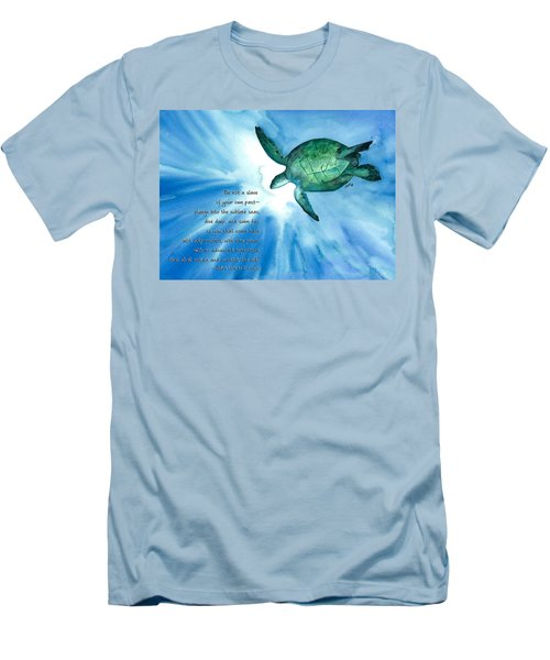 Dive Deep Men's T-Shirt (Athletic Fit)