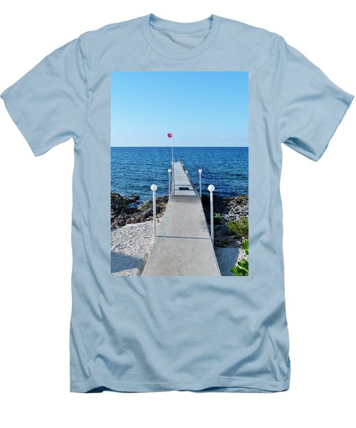 Men's T-Shirt (Slim Fit) featuring the photograph Divers Down by Amar Sheow