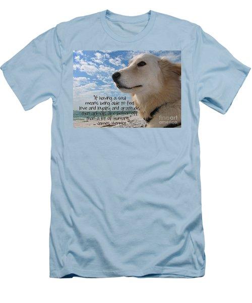 Doggie Soul Men's T-Shirt (Athletic Fit)