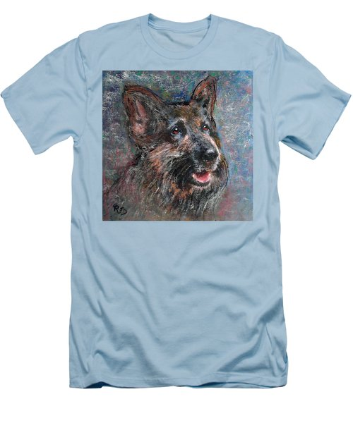 Doggy Dreams Men's T-Shirt (Slim Fit) by Richard James Digance