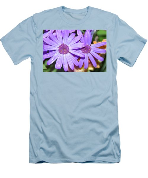 Double Purple Men's T-Shirt (Athletic Fit)