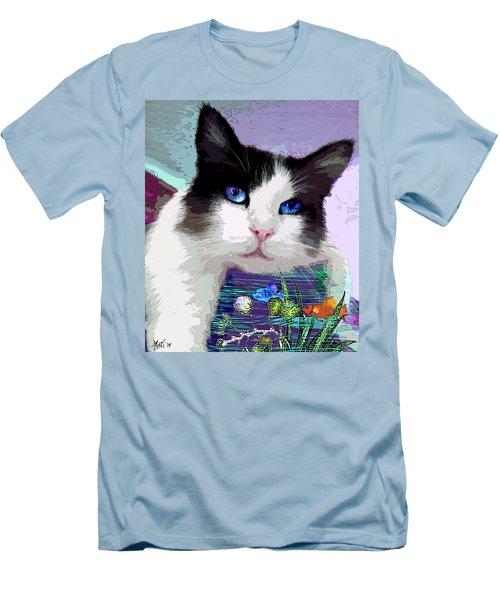 Dreaming Of Fish Men's T-Shirt (Slim Fit) by Michele Avanti