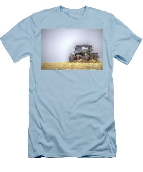 A Rusty Abandoned Truck Near Sturgis South Dakota Men's T-Shirt (Athletic Fit)