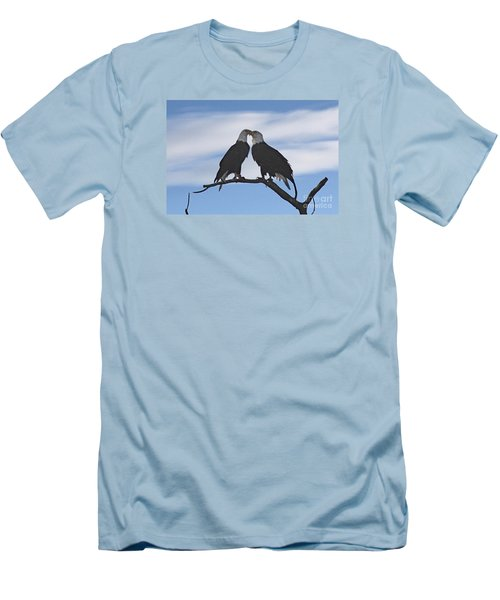 Eagle Love Men's T-Shirt (Athletic Fit)
