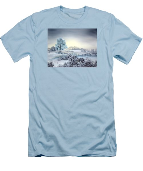 Early Morning Snows Men's T-Shirt (Athletic Fit)