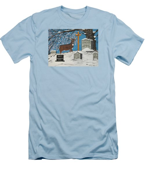 Early Spring Men's T-Shirt (Slim Fit) by Jeffrey Koss