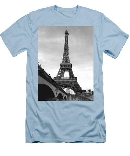 Eiffel Classic Men's T-Shirt (Athletic Fit)