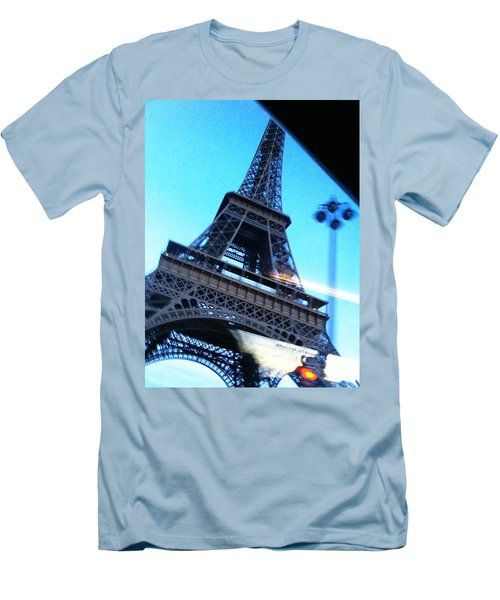 Eiffel In Motion Men's T-Shirt (Athletic Fit)