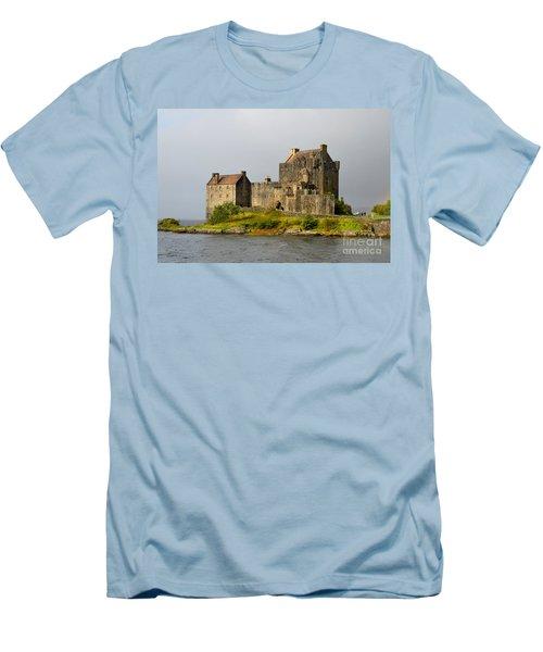 Eilean Donan Castle In Scotland Men's T-Shirt (Athletic Fit)