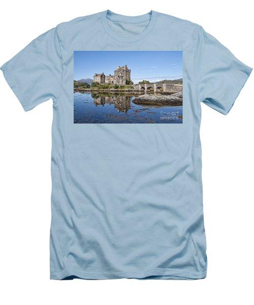 Eilean Donan Castle Reflections Men's T-Shirt (Athletic Fit)