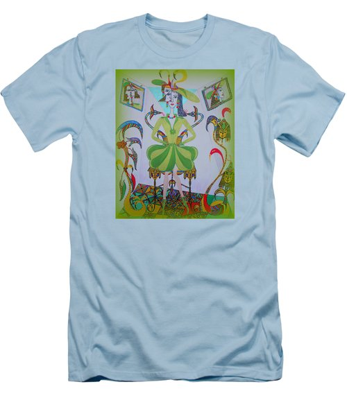 Eleonore Friend Princess Melisa Men's T-Shirt (Slim Fit) by Marie Schwarzer