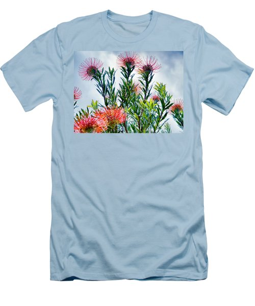 Enchanting Gardens 42 Men's T-Shirt (Slim Fit) by Dawn Eshelman