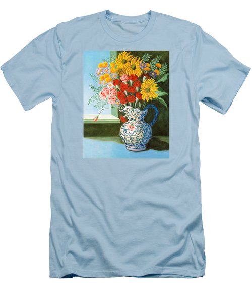 English Bouquet Men's T-Shirt (Athletic Fit)