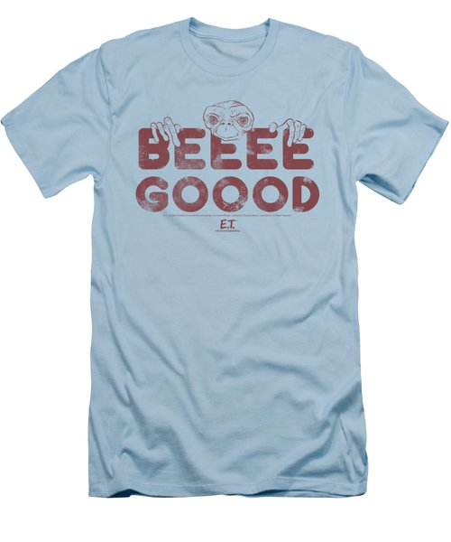 Et - Be Good Men's T-Shirt (Athletic Fit)