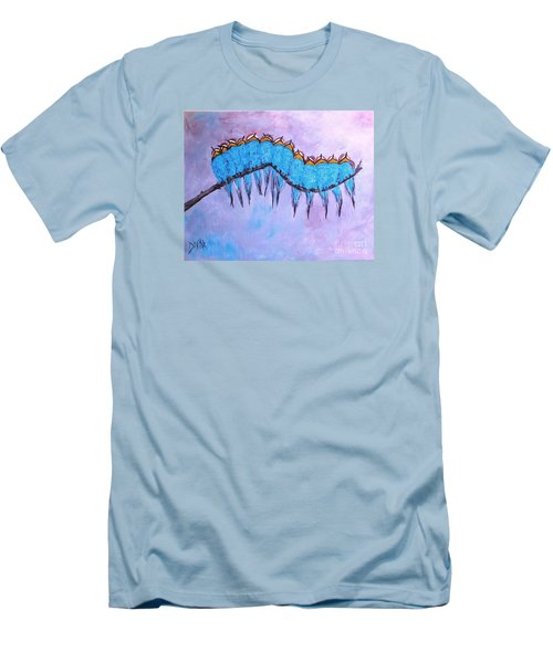 Men's T-Shirt (Slim Fit) featuring the painting European Bee Eaters by Donna Dixon