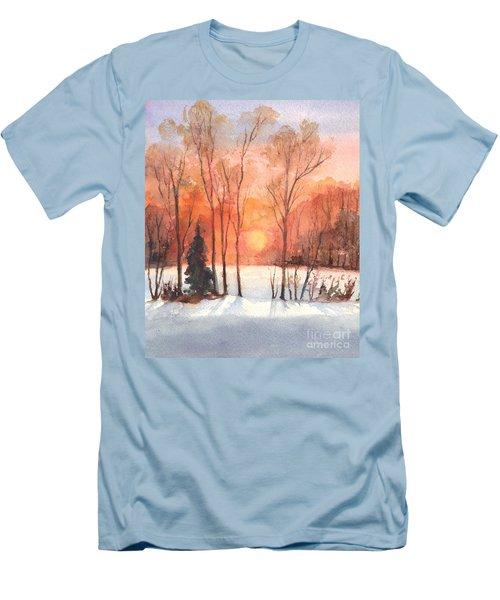 The Evening Glow Men's T-Shirt (Slim Fit) by Carol Wisniewski