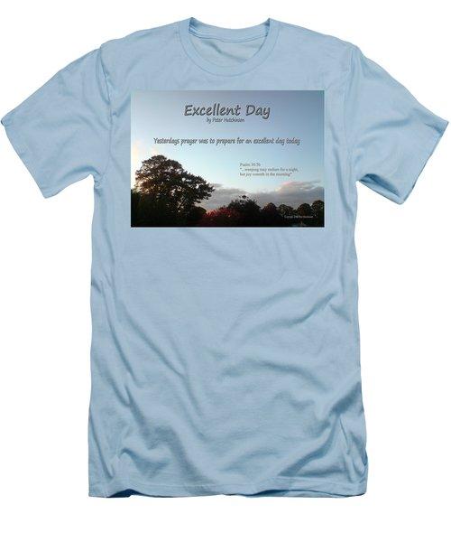 Excellent Day Men's T-Shirt (Athletic Fit)