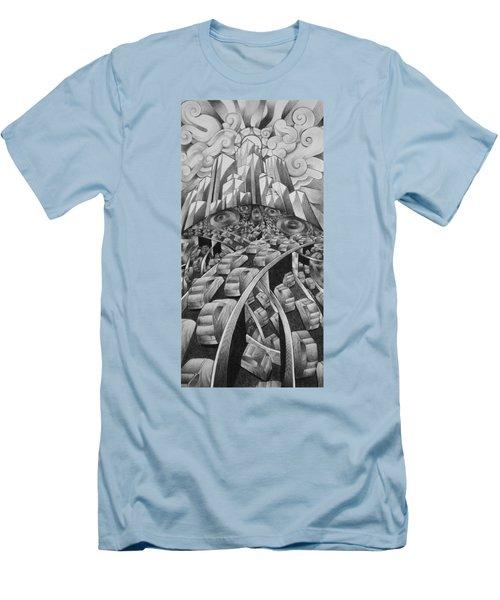 Exit Route Men's T-Shirt (Athletic Fit)