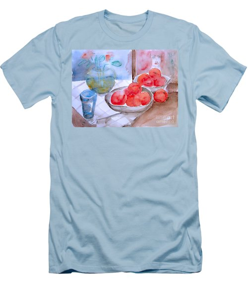 Expectation Men's T-Shirt (Slim Fit) by Jasna Dragun