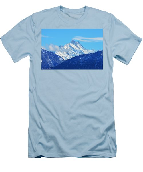 Fairy Tale In Alps Men's T-Shirt (Athletic Fit)